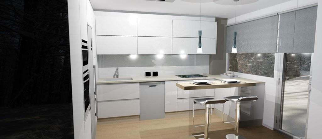 Diseño de cocina 3d